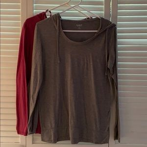 Old Navy Active Wear TShirt Hoodie
